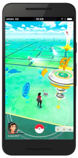 遊び方-外に出てポケモンを捕まえよう!|『Pokémon GO』公式サイト4
